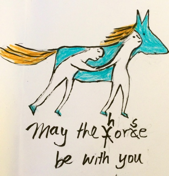 bluehorse may the force be with you