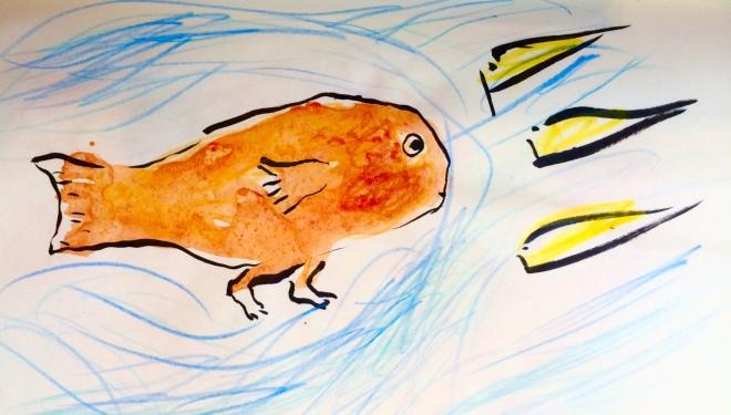 fish running