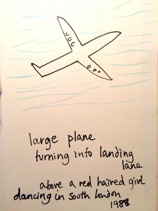 plane turning