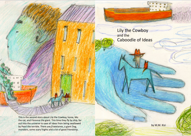 Lily and the Caboodle Front and Back cover